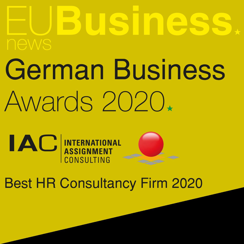 IAC: Ausgezeichnet! Best HR Consultancy Firm 2020